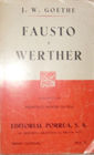 # 21. FAUSTO / WERTHER