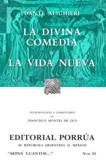 # 15. LA DIVINA COMEDIA / LA VIDA NUEVA