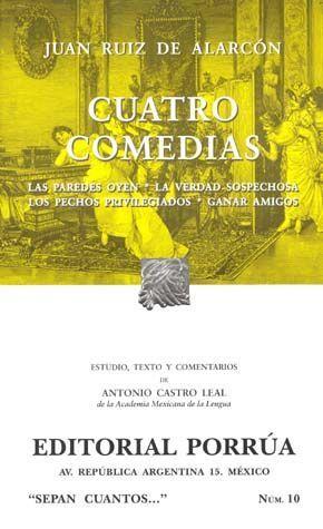 # 10. CUATRO COMEDIAS