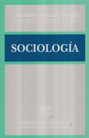 SOCIOLOGIA / 28 ED.