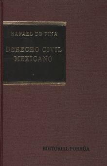 DERECHO CIVIL MEXICANO / VOL. I / 25 ED / PD