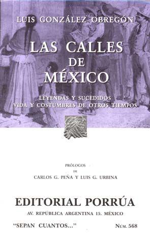 # 568. LAS CALLES DE MEXICO