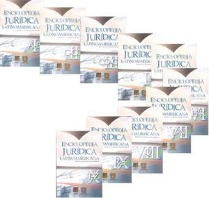 ENCICLOPEDIA JURIDICA LATINOAMERICANA / 10 TOMOS