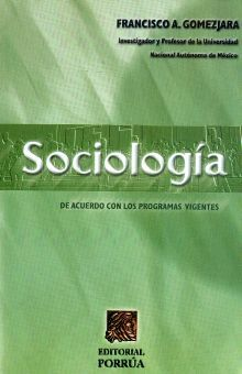 SOCIOLOGIA. BACHILLERATO / 39 ED.