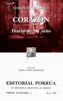 # 157. CORAZON. DIARIO DE UN NIÑO