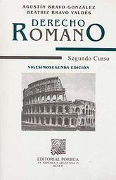 DERECHO ROMANO PRIMER CURSO / 30 ED.