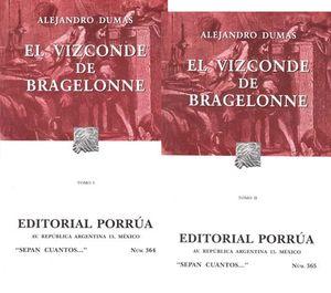 # 364 Y 365. EL VIZCONDE DE BRAGELONNE / 2 TOMOS