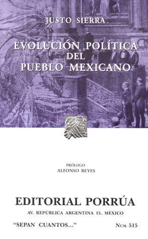 # 515. EVOLUCION POLITICA DEL PUEBLO MEXICANO