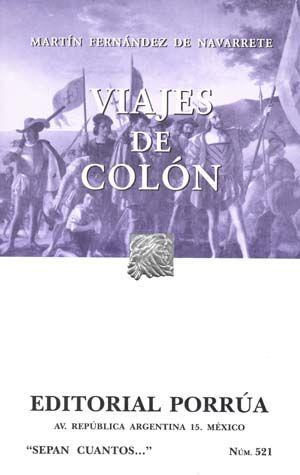 # 521. VIAJES DE COLON
