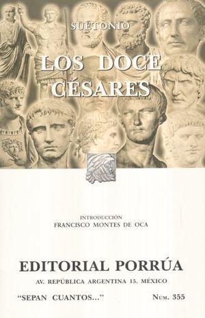 # 355. LOS DOCE CESARES