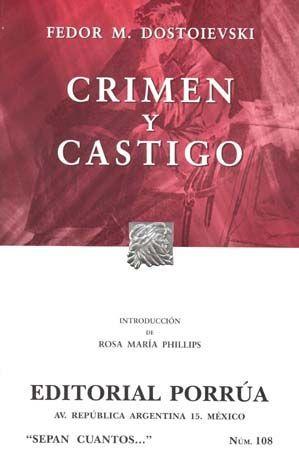 # 108. CRIMEN Y CASTIGO