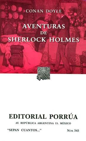 # 345. AVENTURAS DE SHERLOCK HOLMES