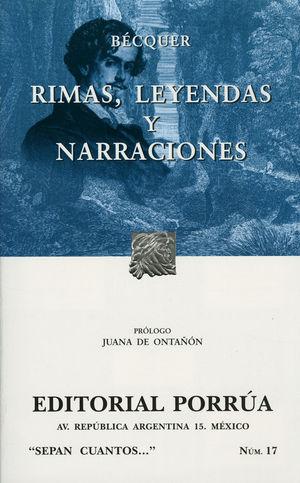 # 17. RIMAS / LEYENDAS / NARRACIONES