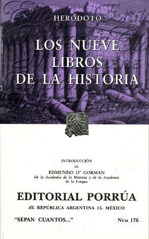 # 176. LOS NUEVE LIBROS DE LA HISTORIA