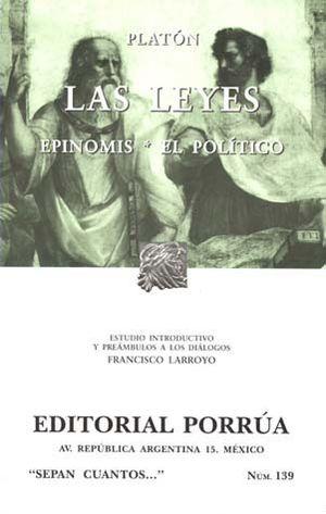 # 139. LAS LEYES / EPINOMIS / EL POLITICO