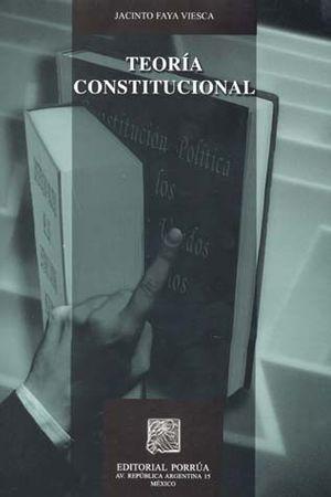 TEORIA CONSTITUCIONAL / 2 ED.