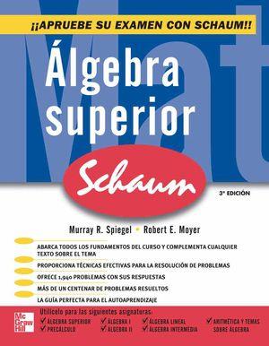 ALGEBRA SUPERIOR / 3 ED.