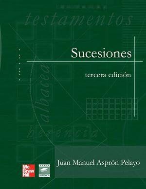 SUCESIONES / 3 ED.