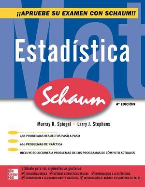 ESTADISTICA. SCHAUM / 4 ED.