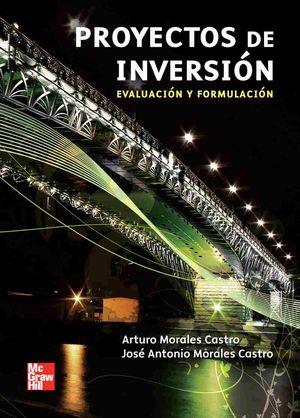 PROYECTOS DE INVERSION. EVALUACION Y FORMULACION