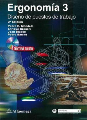 ERGONOMIA 3. DISEÑO DE PUESTOS DE TRABAJO / 2 ED. (INCLUYE DKT)