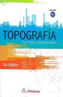 TOPOGRAFIA / 11 ED. (INCLUYE CD)