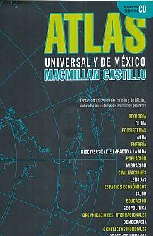 ATLAS UNIVERSAL Y DE MEXICO. SECUNDARIA (INCLUYE CD)