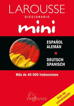 LAROUSSE DICCIONARIO MINI ESPAÑOL ALEMAN/ DEUTSCH-SPANISCH