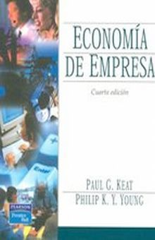 ECONOMIA DE EMPRESA / 4 ED.