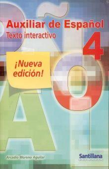 AUXILIAR DE ESPAÑOL 4. TEXTO INTERACTIVO PRIMARIA