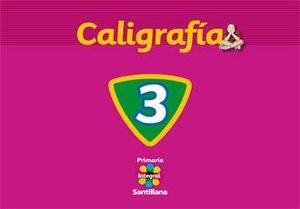 CALIGRAFIA 3. SANTILLANA INTEGRAL PRIMARIA