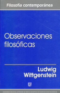 OBSERVACIONES FILOSOFICAS