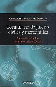 FORMULARIO DE JUICIOS CIVILES Y MERCANTILES