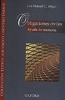 OBLIGACIONES CIVILES / AYUDA DE MEMORIA