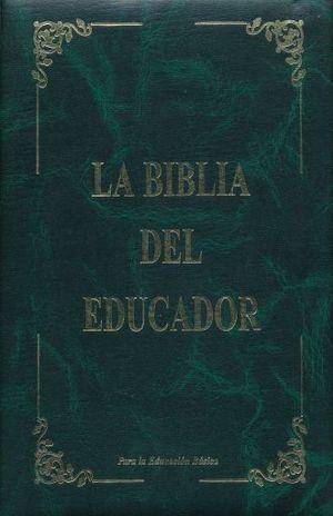 BIBLIA DEL EDUCADOR, LA / PD.