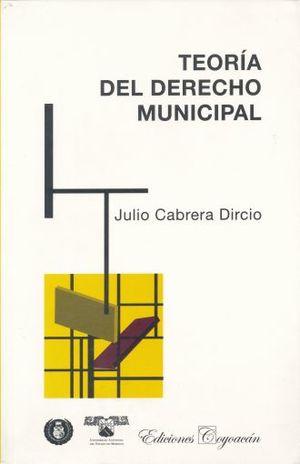TEORIA DEL DERECHO MUNICIPAL