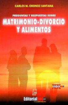 PREGUNTAS Y RESPUESTAS SOBRE MATRIMONIO DIVORCIO Y ALIMENTOS