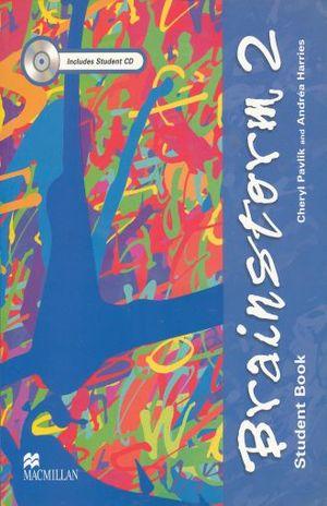 BRAINSTORM 2 STUDENT BOOK  (INCLUYE CD)