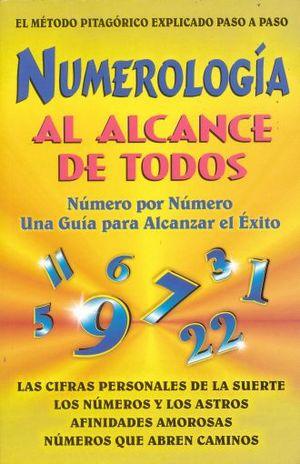 NUMEROLOGIA AL ALCANCE DE TODOS
