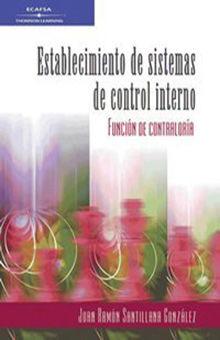 ESTABLECIMIENTO DE SISTEMAS DE CONTROL INTERNO. LA FUNCION DE CONTRALORIA