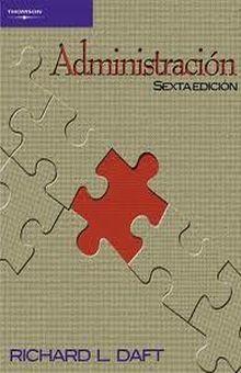 ADMINISTRACION / 6 ED.