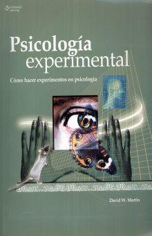 PSICOLOGIA EXPERIMENTAL. COMO HACER EXPERIMENTOS EN PSICOLOGIA / 7 ED.