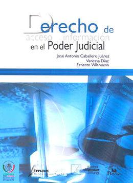 DERECHO DE ACCESO A LA INFORMACION EN EL PODER JUDICIAL