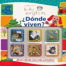 DONDE VIVEN. BABY EINSTEIN / PD.