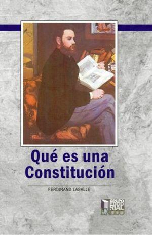 QUE ES UNA CONSTITUCION