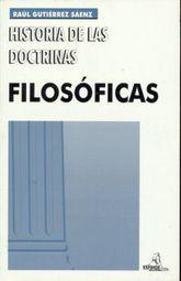 HISTORIA DE LAS DOCTRINAS FILOSOFICAS. BACHILLERATO / 38 ED.