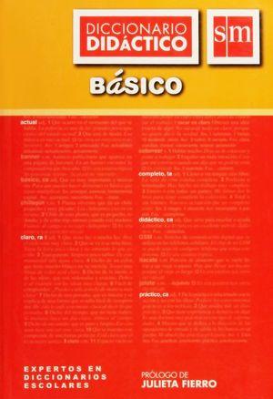 DICCIONARIO DIDACTICO DE ESPAÑOL BASICO