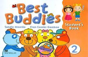 BEST BUDDIES 2 STUDENT BOOK (INCLUYE CD)