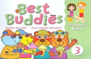 BEST BUDDIES 3 STUDENT BOOK (INCLUYE CD)