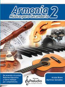 ARMONIA 2. MUSICA PARA SECUNDARIA